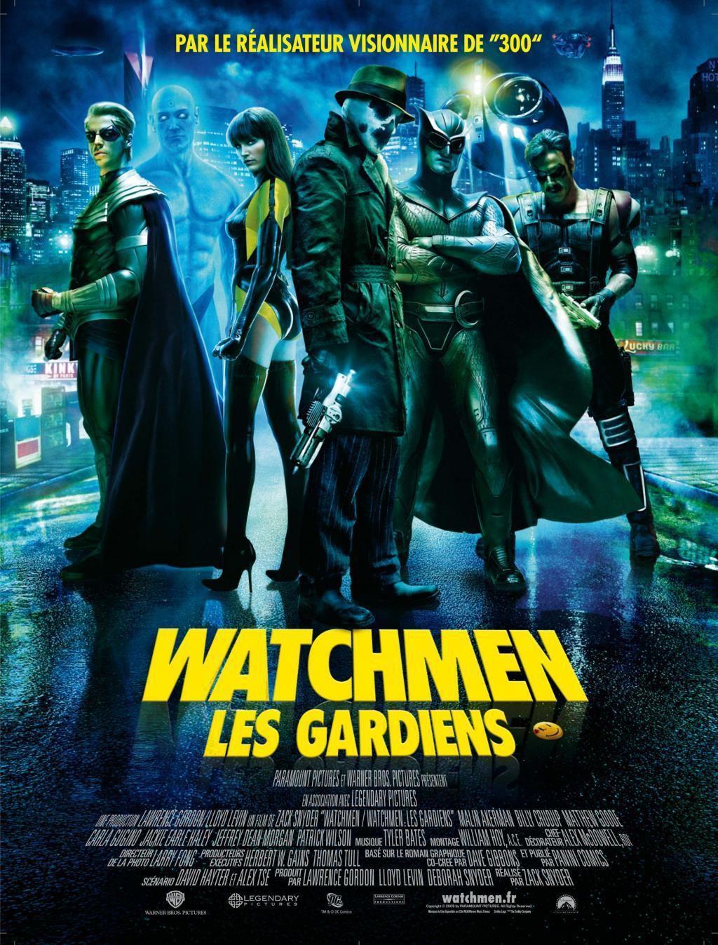 Watchmen : Les Gardiens : affiche du film (2009