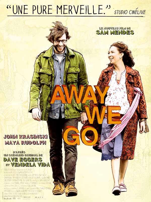 """Affiche du film """"Away We Go"""" de Sam Mendes"""