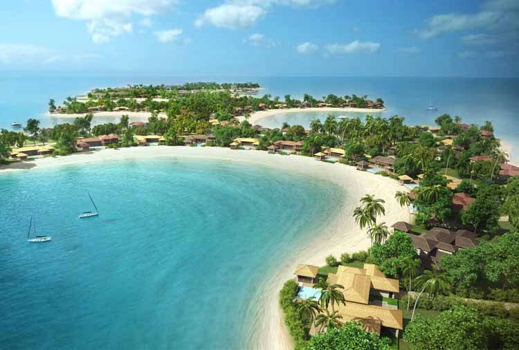 the world dubai : coral island resort