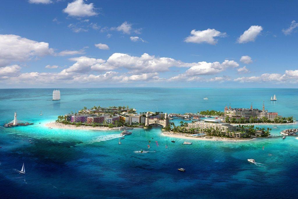 the world dubai : îles hôtelières