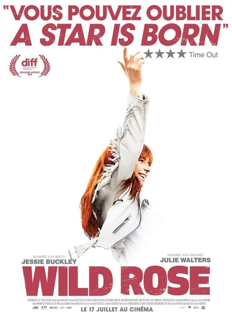 """Affiche française du film """"Wild Rose"""" : vous pouvez oublier """"A star is born"""" !"""