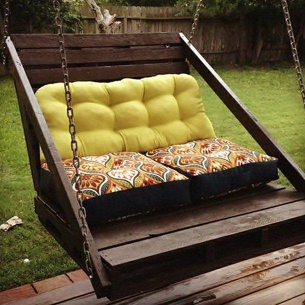 palette Version mobilier de jardin