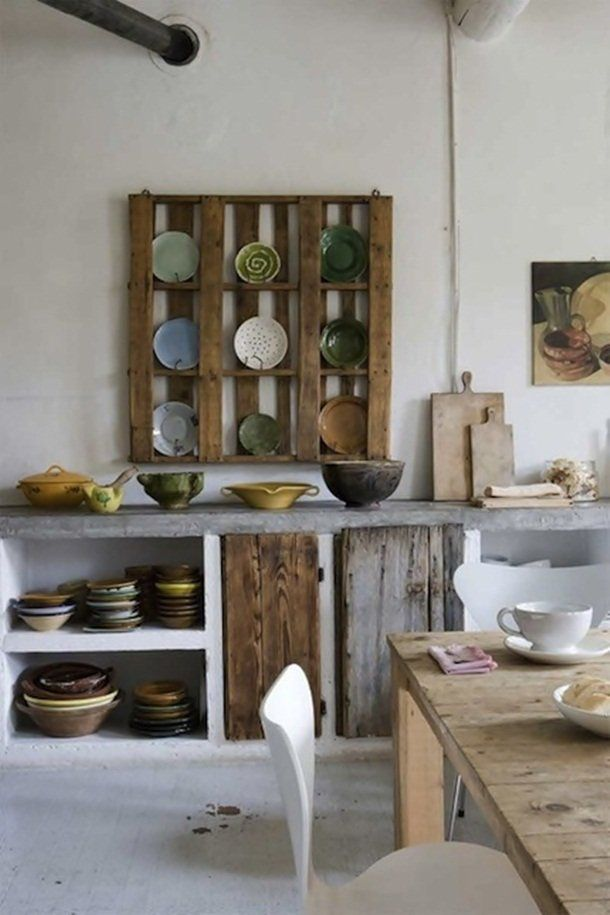 palette Version décorative pour la cuisine