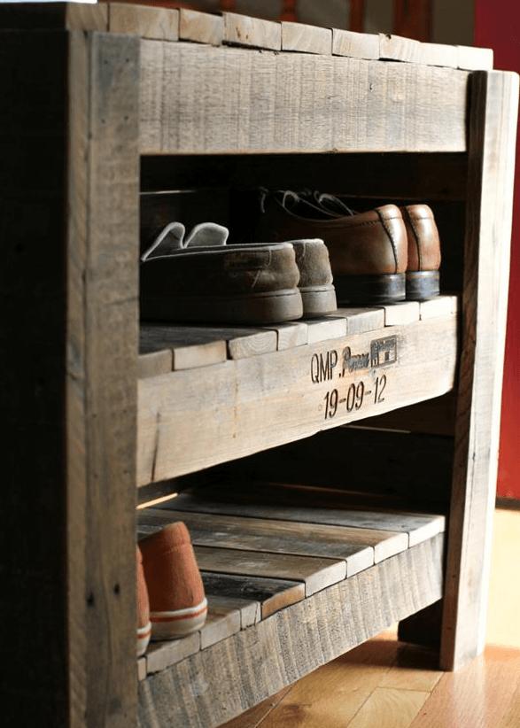 palette Version meuble à chaussures classe
