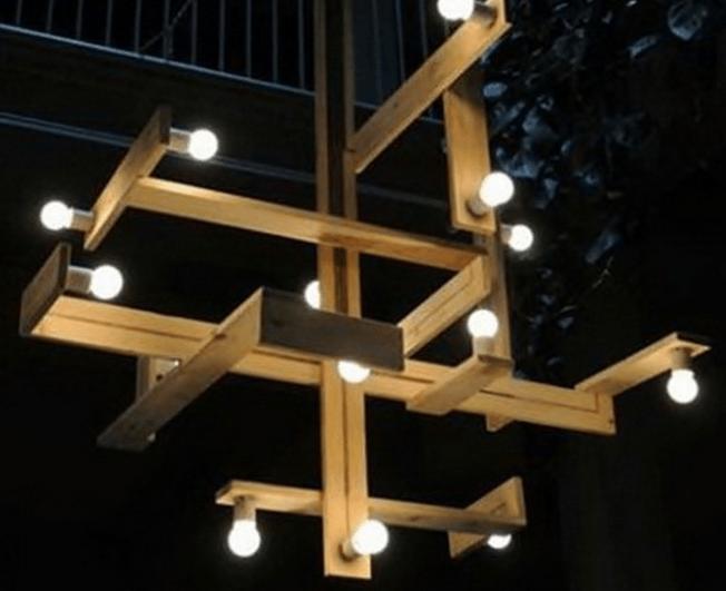 palette Version lampe suspendue design