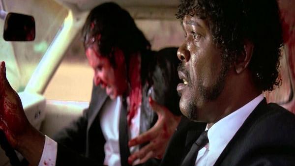 pulp fiction un film violent de Tarantino
