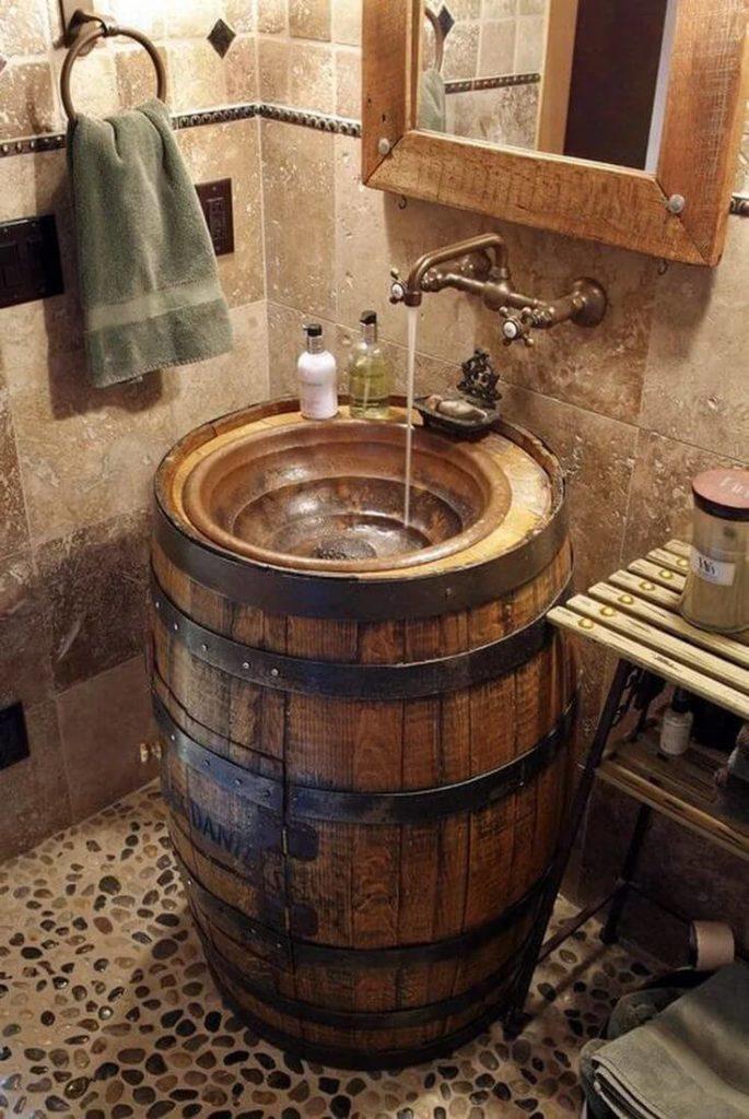 tonneau Version lavabo