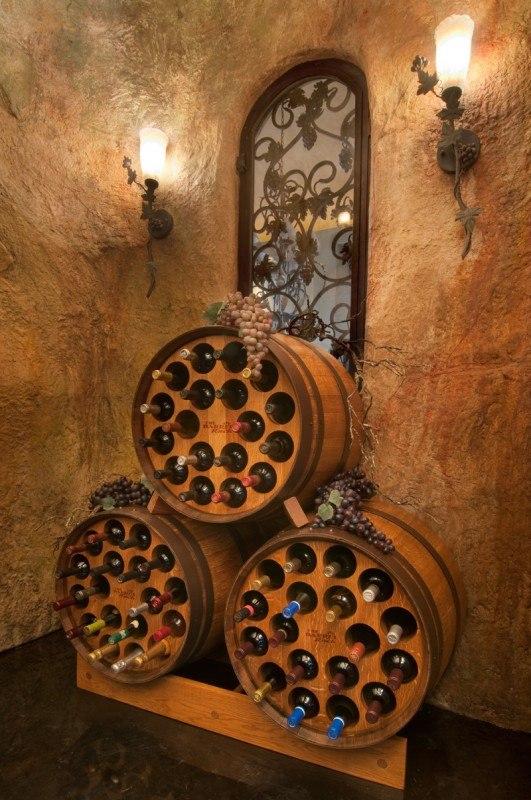 tonneau Version cave à vin chic