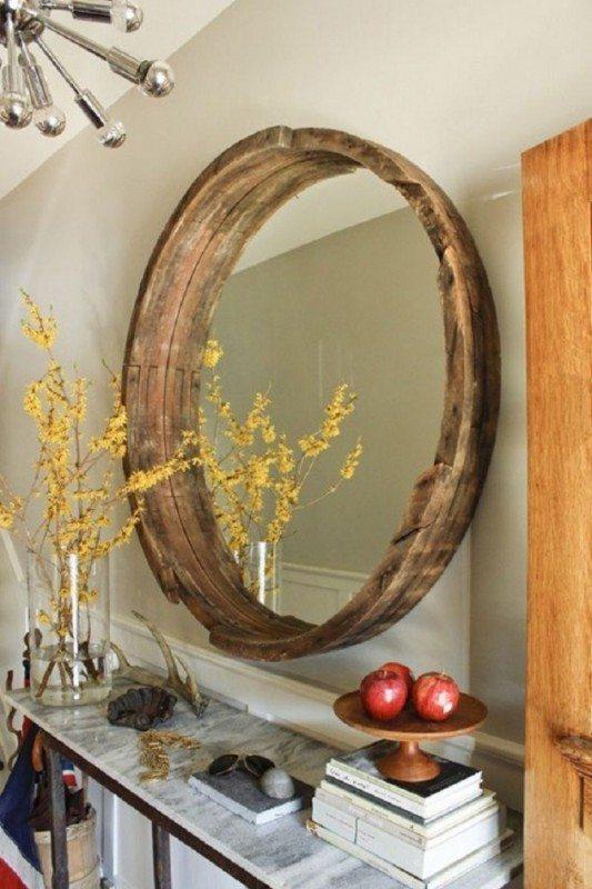 tonneau Version miroir vintage