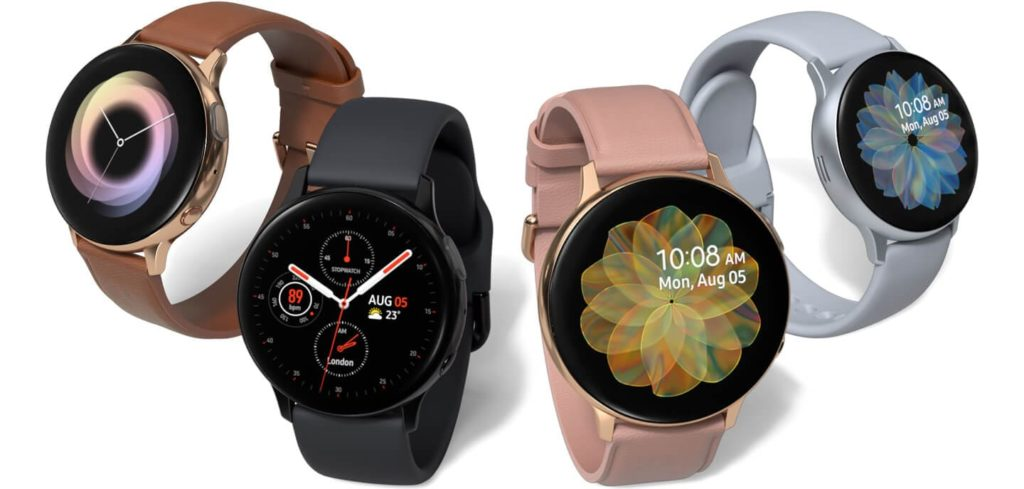 Samsung Galaxy Watch Active 2 : design