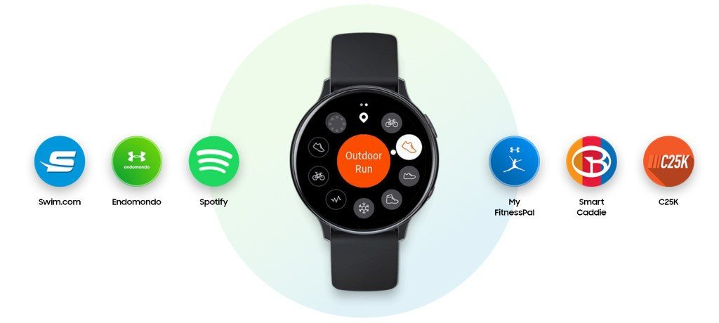 Samsung Galaxy Watch Active 2 : fonctionnalités