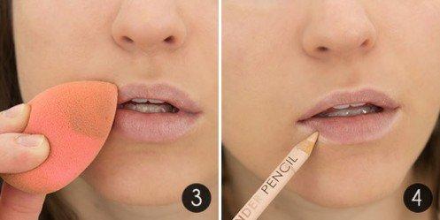 jolies lèvres