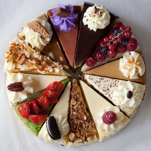 petit déjeuner gâteau