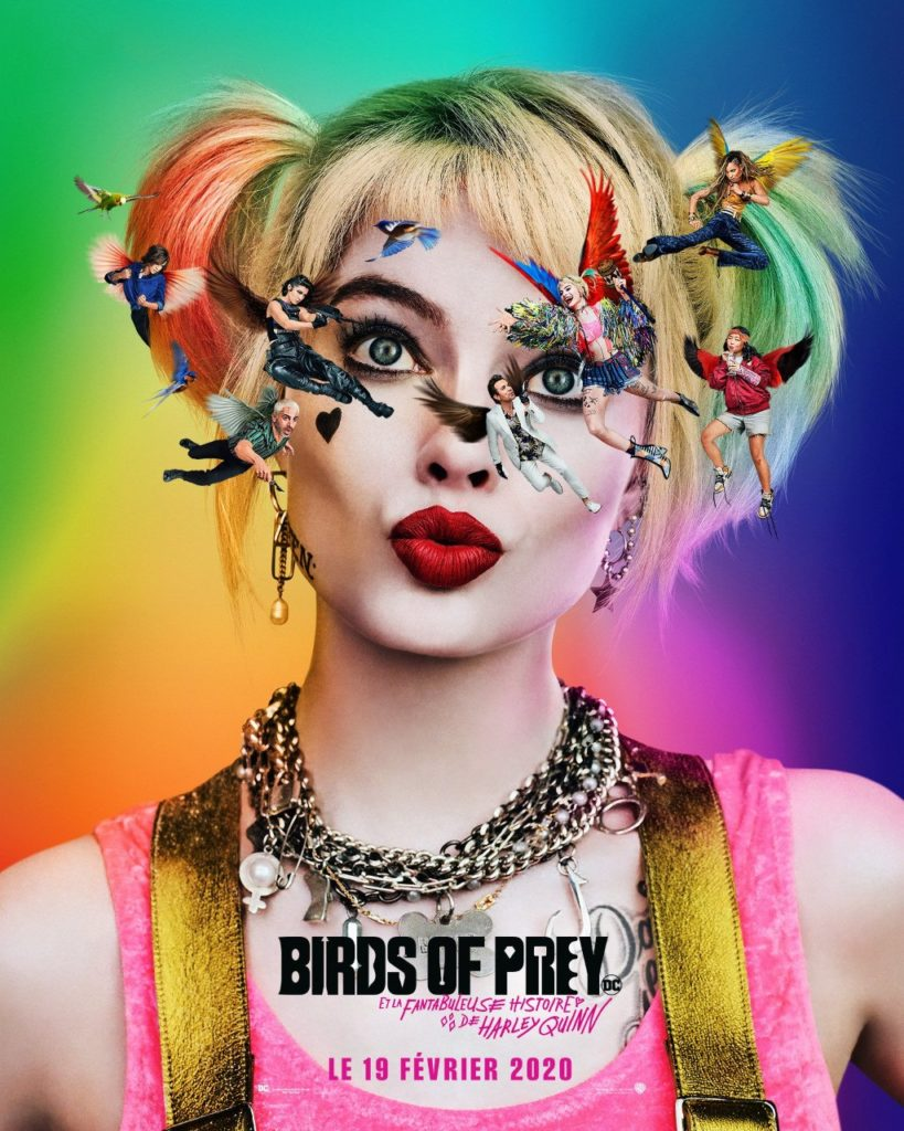 Birds Of Prey : affiche du film 2020