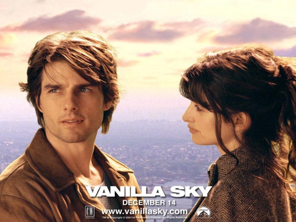 Vanilla Sky : Tom Cruise et Penelope Cruz