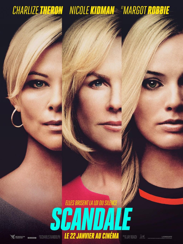 Affiche du scandale : le film avec Charlize Theron, Nicole Kidman et Margot Robbie