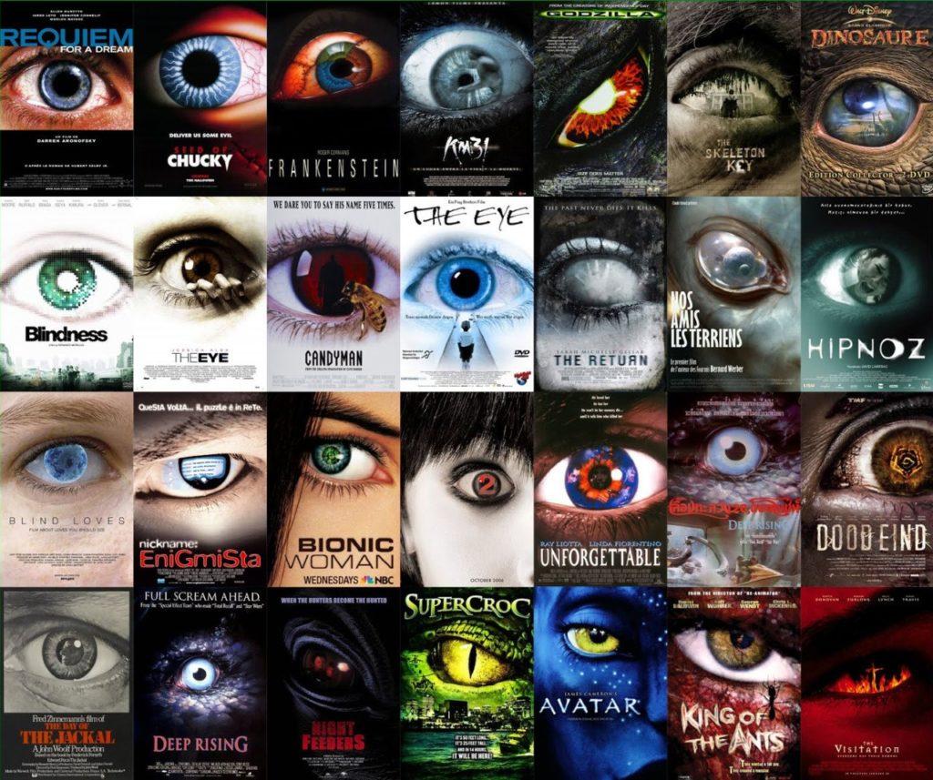 Affiches tape à l'œil - plagiat affiches cinéma