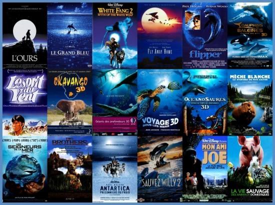 Le bleu, la nature et les animaux - 1 - plagiat affiches cinéma