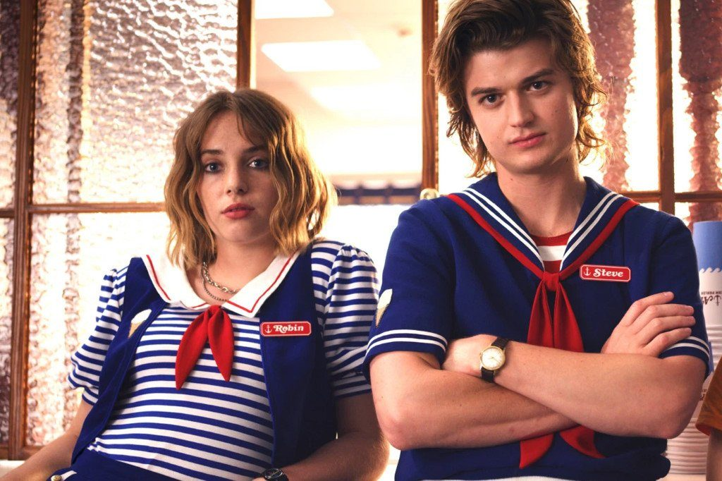 costumes couples halloween 2019 : Steve et Robin de Stranger Things
