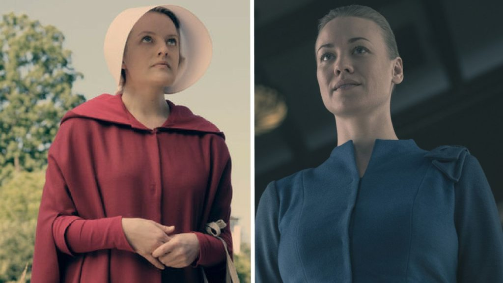 "costumes couples halloween 2019 : Offred et Serena Joy de la série ""The Handmaid's Tale """