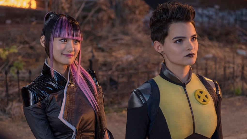 costumes couples halloween 2019 : Yukio et Negasonic de Deadpool 2