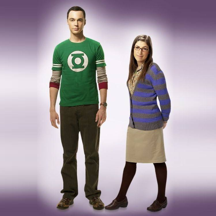 costumes couples halloween 2019 : Sheldon Cooper et Amy Farrah Fowler