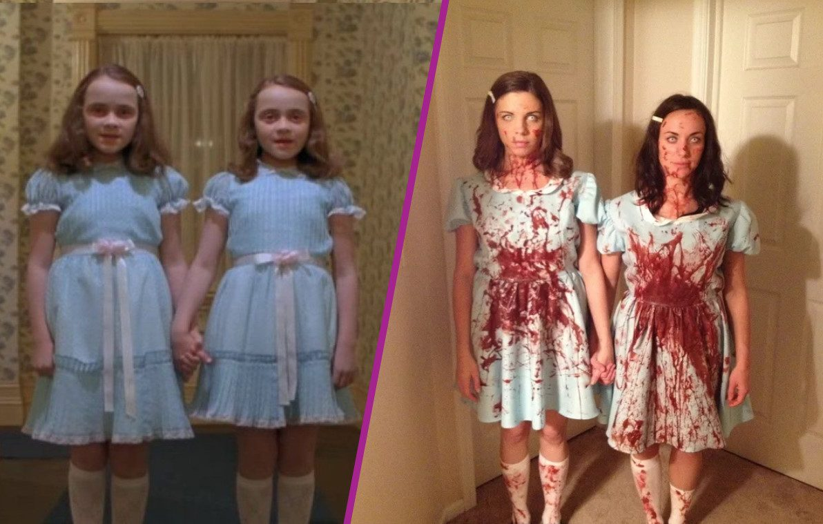 costumes couples halloween : The Grady Twins (The Shining)