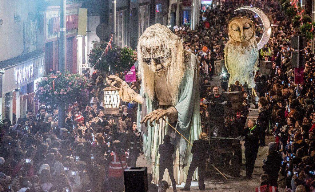 Le défilé d'Halloween à Dublin