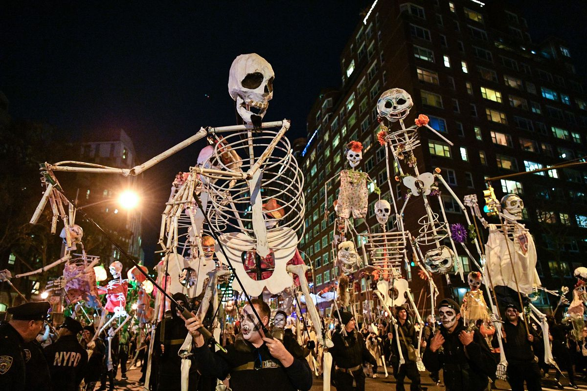 La grande parade d'Halloween à New-York