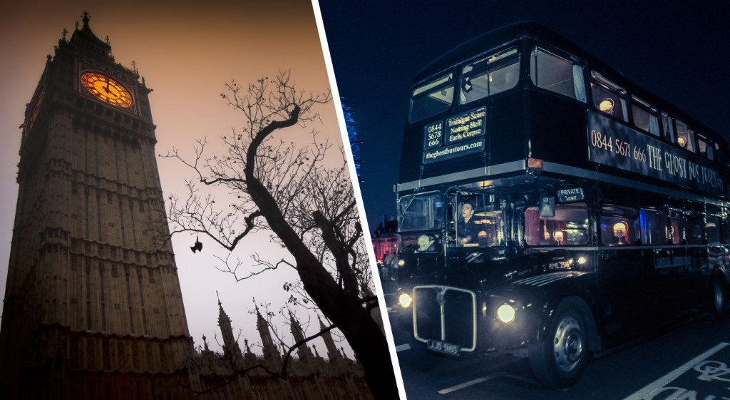 "Frisson garanti pour Halloween avec ""The ghost bus tours"" à Londres"