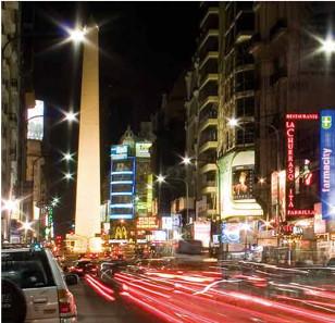 Buenos Aires : Calle Corrientes