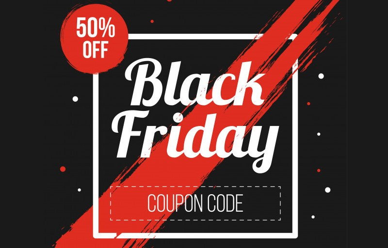 black friday coupon code promo