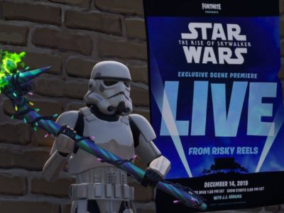affiche star wars fortnite