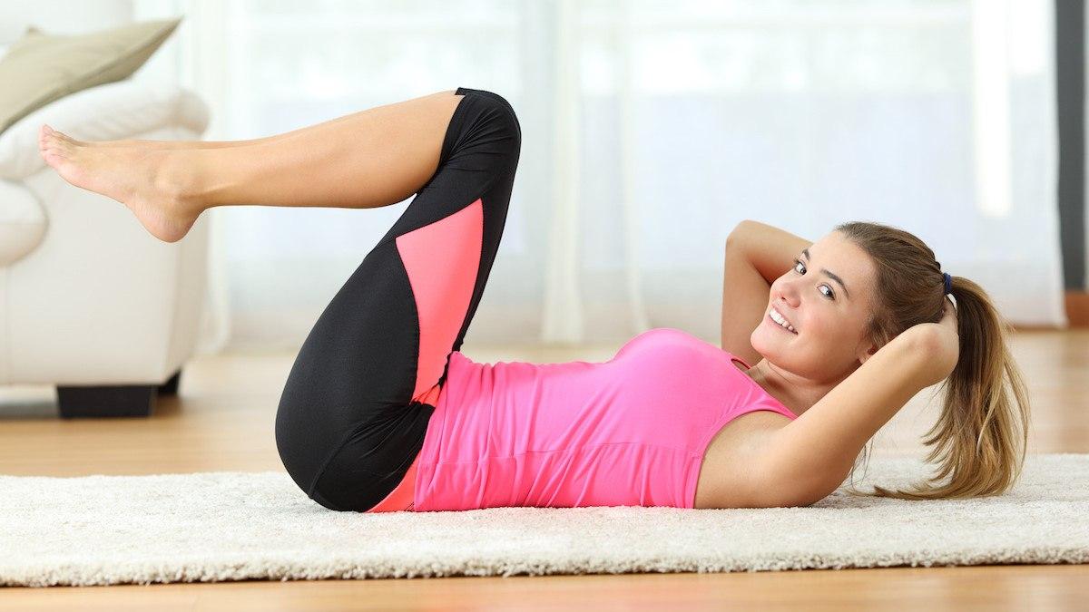 Sport à domicile : 6 exercices faciles pour un ventre plat